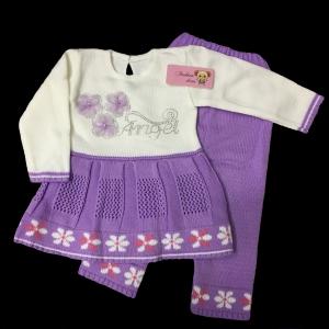 """костюм детский вязаный """"Ангел"""" 1,5-2 года (упаковка 5 шт )"""