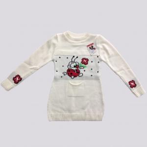 Платье «Ванька-встанька» с кармашком 2-3 года