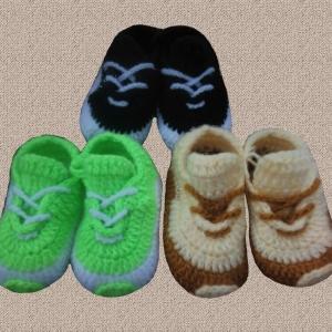 Пинетки кросы до 1,5 лет  (плотные)
