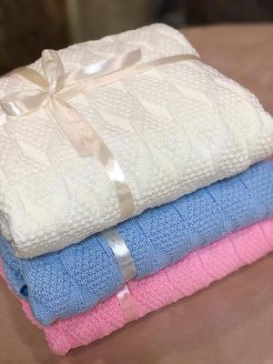 "Плед - одеяло ""Премиум"" (размер 100х100см) 4 нитки европряжа (комплект 6шт)"