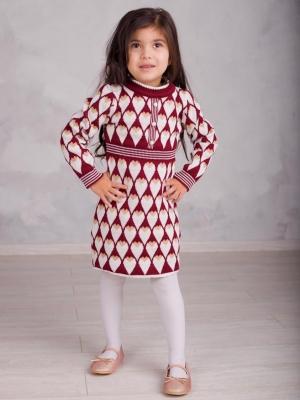 Платье вязаное «FA6066» 5-7 лет (упаковка 3 шт.)