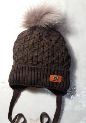 Шапка «E13» (подкладка зима) 3-7 лет
