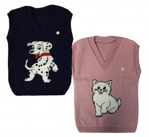 """Безрукавка """"Далматинец и кошка"""" размеры 30,32,34"""