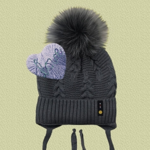 Шапка зимняя детская E36