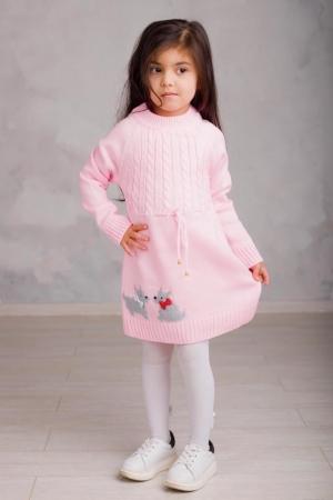 Платье вязаное «FA6064» 5-7 лет (упаковка 3 шт.)