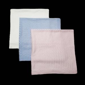 """Плед - одеяло """"Косичка"""" (размер 90х90см) четыре нитки"""